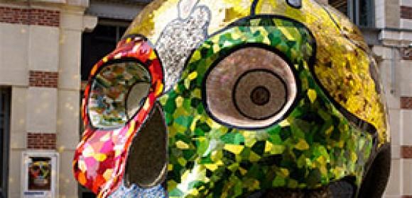 La Cabeza di Niki De Saint Phalle
